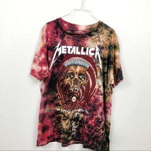 Metallica | Tie-Dye T-shirt